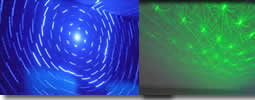 Multi Effects Blue & Green Laser
