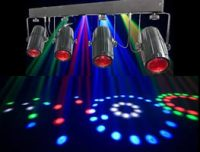 Neo Quadflower sound activated disco light